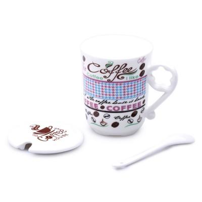 Ly sứ coffee (tím)