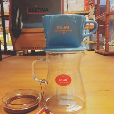 Phin sứ lọc cà phê xanh Yami