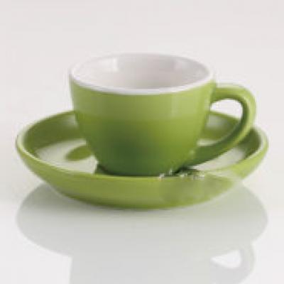 Ly sứ espresso 75ml (xanh lá )