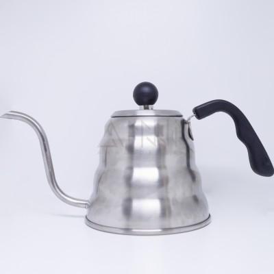 Ấm pha cà phê inox 1lít ( nắp ngang )