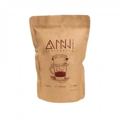 Cà phê hạt Culi Robusta S18