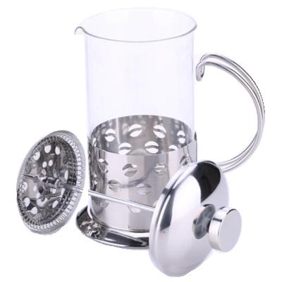 Bình ép pha trà và cafe Inox Yami (600ml) Chất liệu Inox cao cấp, bền, đẹp - pha cà phê, pha