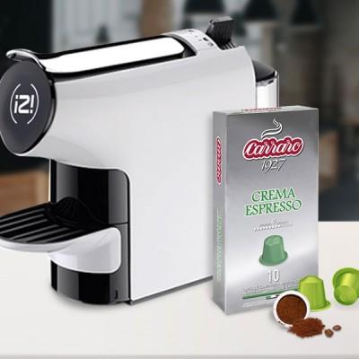 Combo 2 hộp cà phê viên nén Carraro Crema Espresso