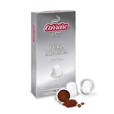 Combo 2 hộp cà phê viên nén Carraro Puro Arabica