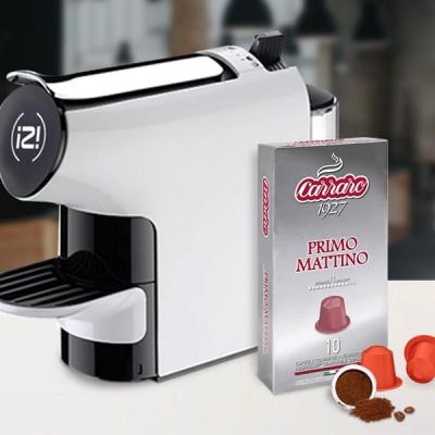 Combo 2 hộp cà phê viên nén Carraro Primo Mattino