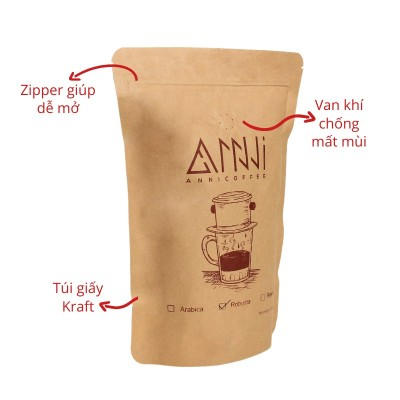 Cafe Hạt Robusta