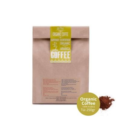 Cafe rang xay 100% cà phê Arabica mộc nguyên chất Cầu Đất - Lâm Đồng ANNI COFFEE (250gr) - Vị ít đắng, thanh dịu, chua