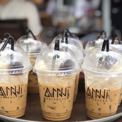 Cafe rang xay nguyên chất Buôn Mê Thuột - Lâm Đồng ANNI COFFEE (250gr) - thích hợp khi dùng để pha cà phê sữa chuẩn gu