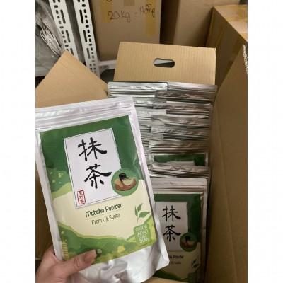 Bột trà xanh Matcha Uji Yanoen (500gr) - Nhập khẩu Nhật Bản 100% nguyên chất, không đường sữa, chất bảo quản