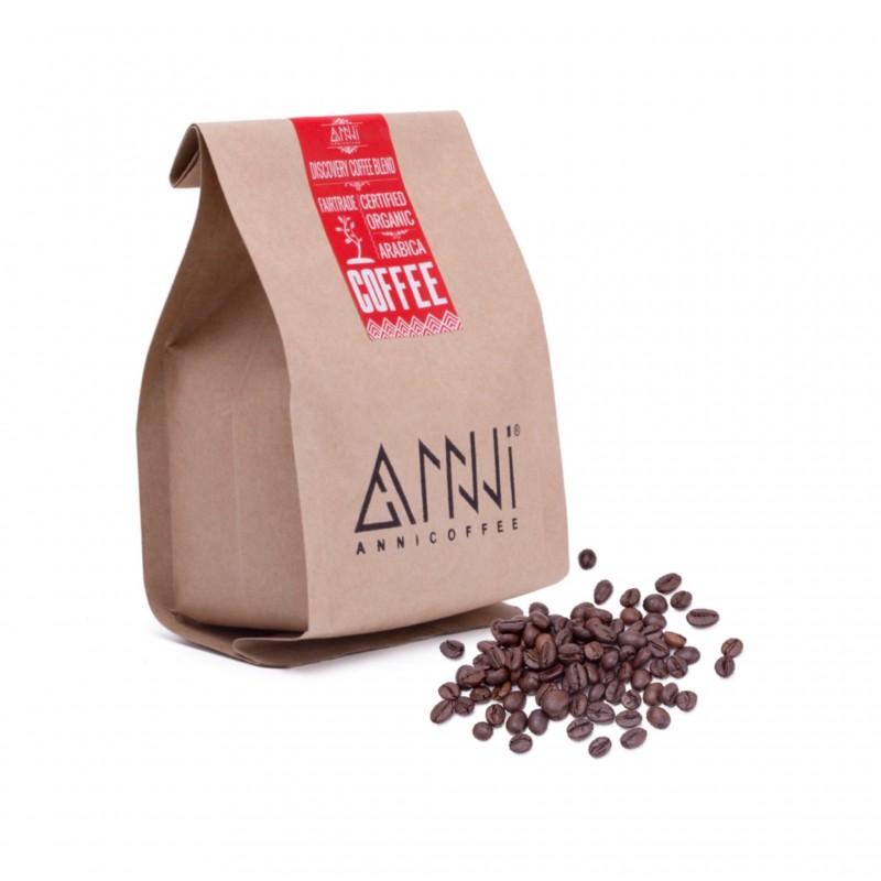 Cafe rang xay nguyên chất Buôn Mê Thuột - Lâm Đồng ANNI COFFEE (250gr) - thích hợp pha cà phê phin, hương vị đậm đắng
