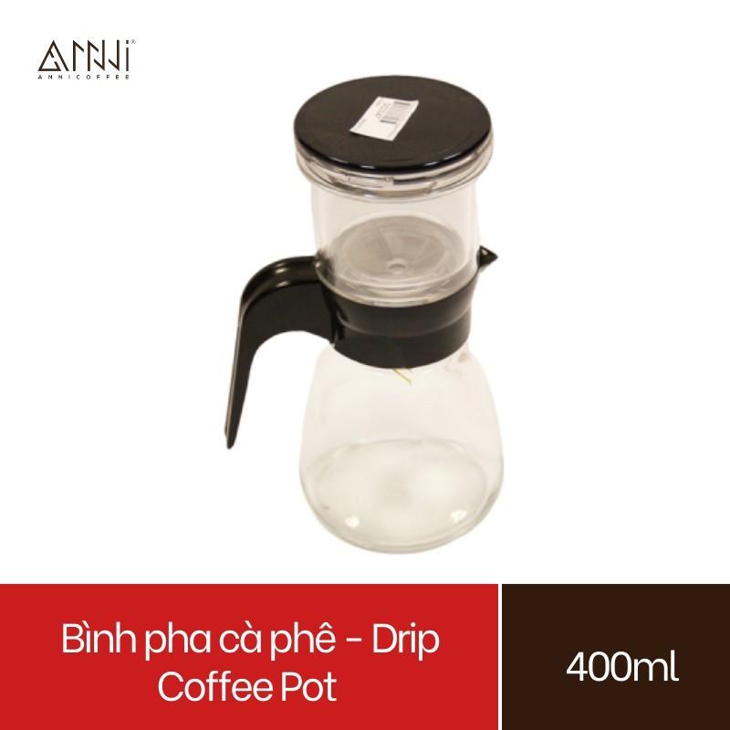 Bình pha cà phê - Drip Pot Pour-over Coffee Maker Brewer Dripper (400ml) - cao cấp, bền, đẹp, dụng cụ pha chế