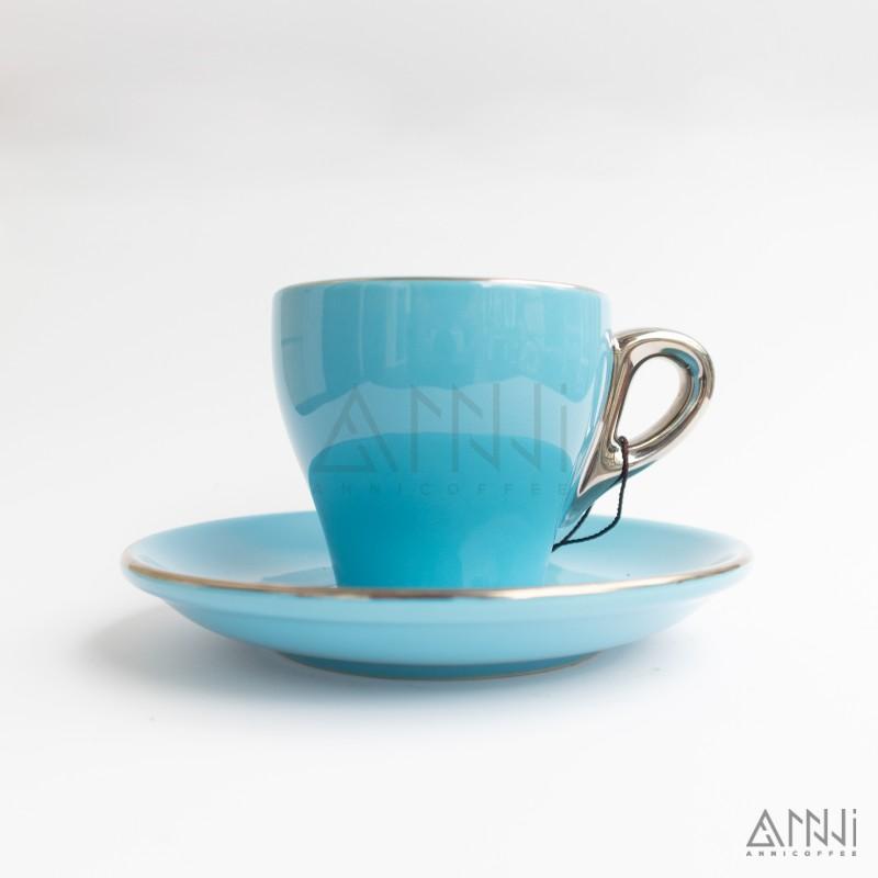ly sứ capuccino xanh dương 180cc